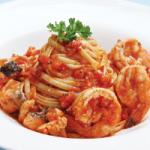 marinara linguine pasta linguine sauteed with fresh prawns salmons ...