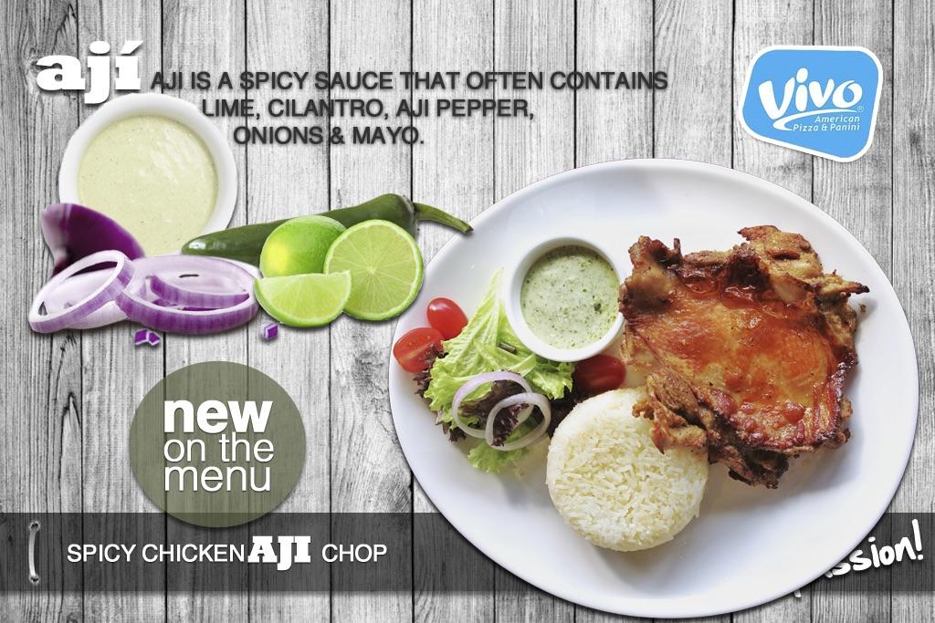 Spicy ChickenAJI Chop